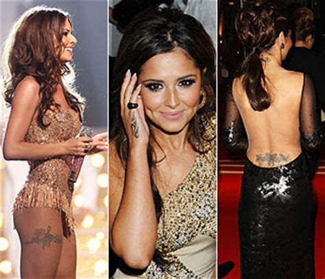 tattoos for all cheryl cole tattoo on her hand 2013