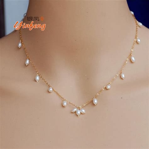 pearls with gold aliexpress buy simple fashion and pearl