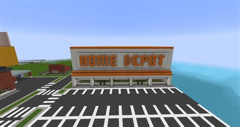 home depot craft for home depot minecraft project