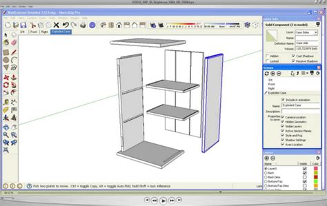 sketchup guide for woodworkers woodworking sketchup plans woodguides