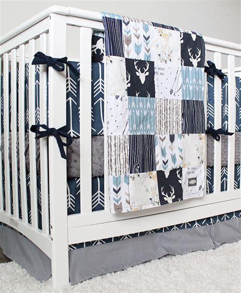 woodland nursery bedding set arrow crib bedding woodlands and arrow baby boy bedding