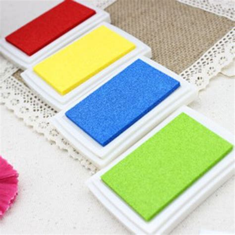 coloured ink pads for rubber sts aliexpress buy diy gradient color ink pad