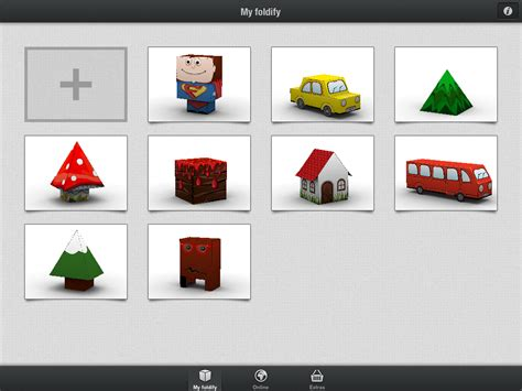 paper craft app foldify a clever papercraft app for