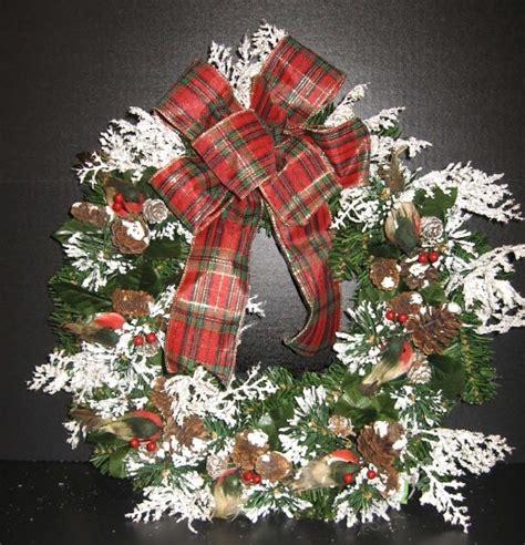 ac crafts a c snowy wreath wreaths