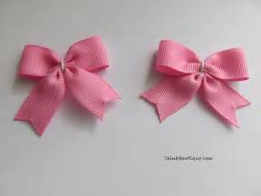 how to make a bow make a bow tie hair bow with tails think bowtique