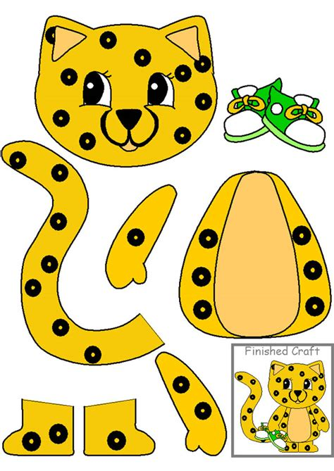 cheetah crafts for 2008 june