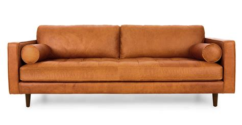 sofa couch sven charme tan sofa sofas article modern mid