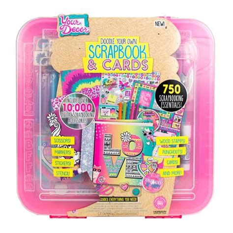 card kits canada your decor doodle your own scrapbook cards kit walmart