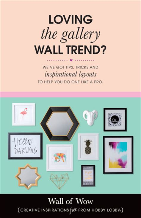 hobby lobby craft projects hobbylobby projects wall of wow
