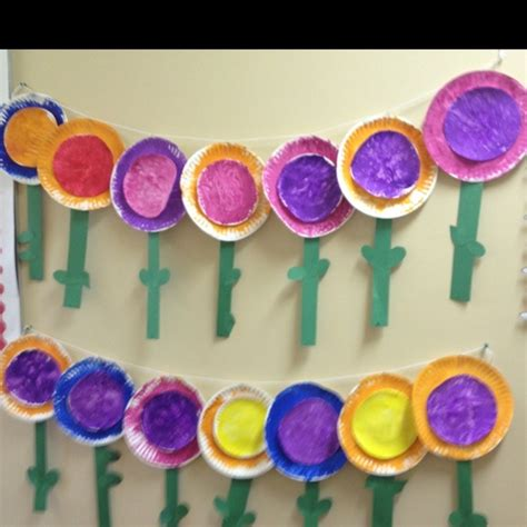 paper crafts for 3 year olds 3 year craft flowers made from a large and a