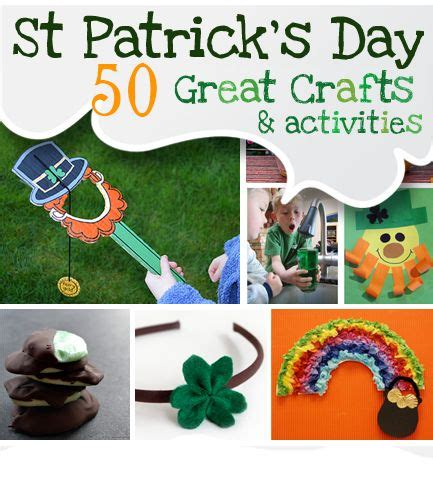 patricks day crafts 50 st patricks day crafts activities st s day