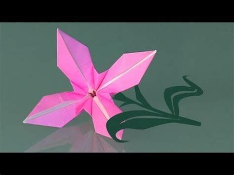 flores de origami uma flor de papel como fazer origami