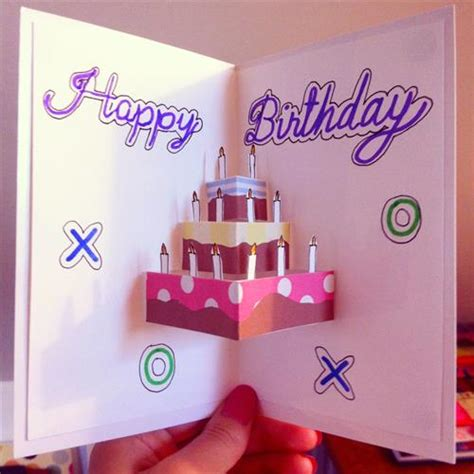ideas of birthday cards diy birthday cards and decorations diy craft projects
