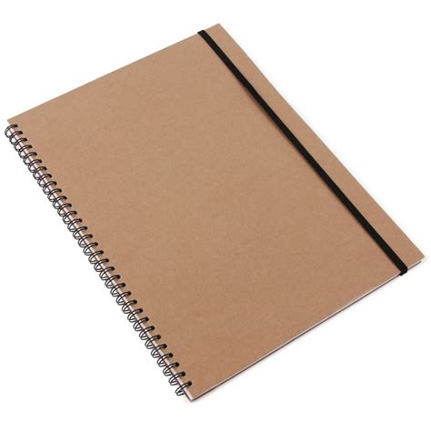 note book picture kraft a4 notebook with ruled pages