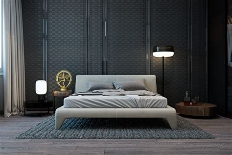 bedroom wall texture designs a modern flat with striking texture and styling