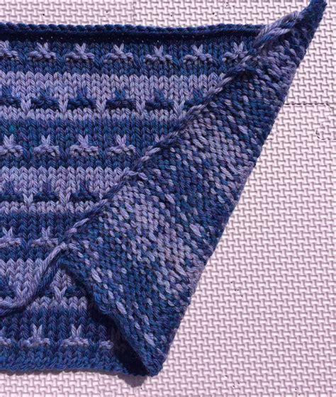 knitting carrying yarn martin storey kal 2016 halfway through knitting with rowan