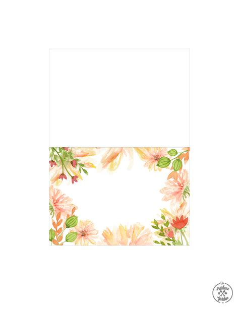 flowers for cards free flower card printables