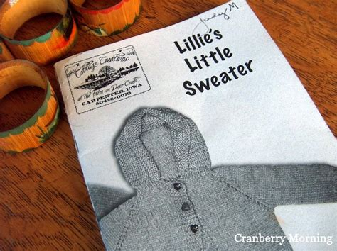 past tense of knit cranberry morning knitted as in past tense