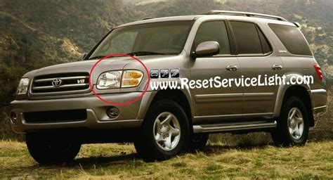 how things work cars 2001 toyota sequoia parking system diy change the headlight on toyota sequoia 2001 2004 reset service light reset oil life