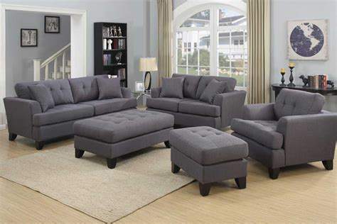 Discount Dining Room Furniture norwich gray sofa set the furniture shack discount