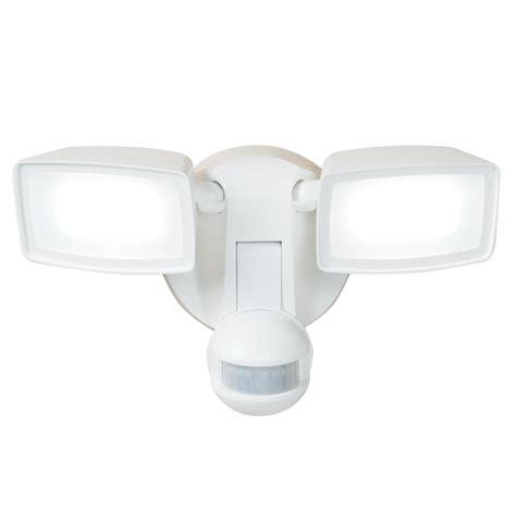 solar motion sensor light lowes shop all pro 180 degree 2 white led motion activated
