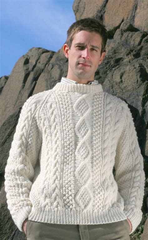 how to knit aran sweater knitted sweaters patterns for images