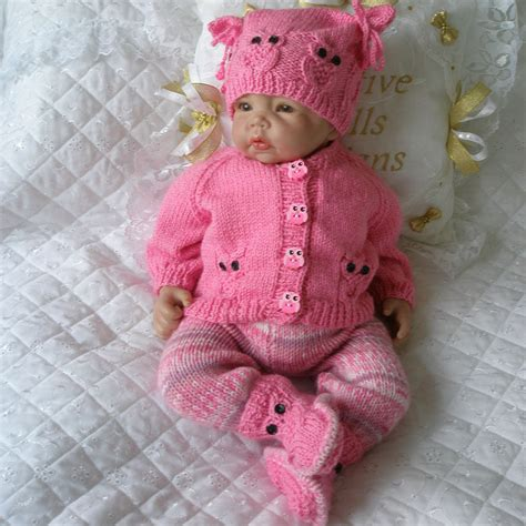 knitting patterns uk creative dolls designs knitting pattern cardigan set for