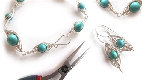 jewelry makings jewelry decorative wire wrapping 1 herringbone
