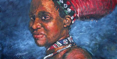 zulu painting zulu by hyatt painter