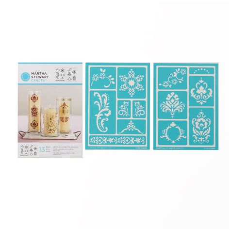 martha stewart craft for martha stewart crafts scroll design adhesive stencils