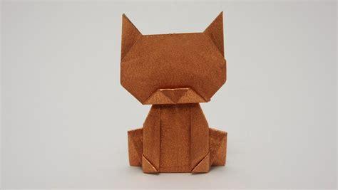 origami cat origami maniacs origami money cat by jo nakashima