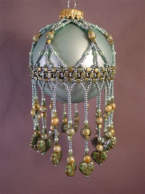 beaded ornament patterns cleopira beaded ornament cover pattern