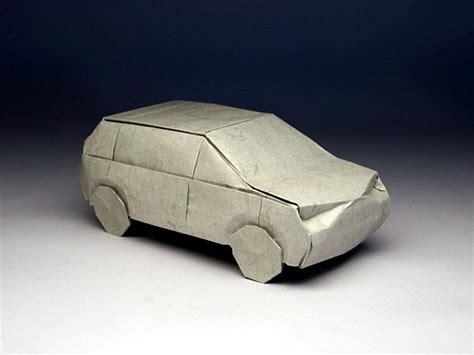 3d origami car yoshizawa origami doodle 2012