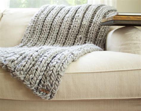 knitting pattern throw chunky chunky rib stitch knit blanket pattern simplymaggie