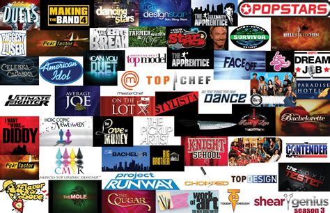 competition tv show reality tv logo collage competitions bjkearnan