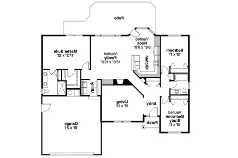 ranch home floor plans ranch house plans bingsly 30 532 associated designs