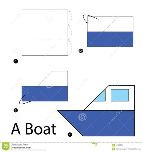 origami boat step by step step by step how to make origami a boat