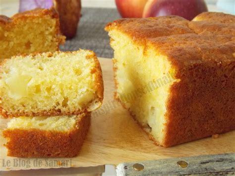 cake aux pommes moelleux aux jaunes d oeufs le cuisine de samar