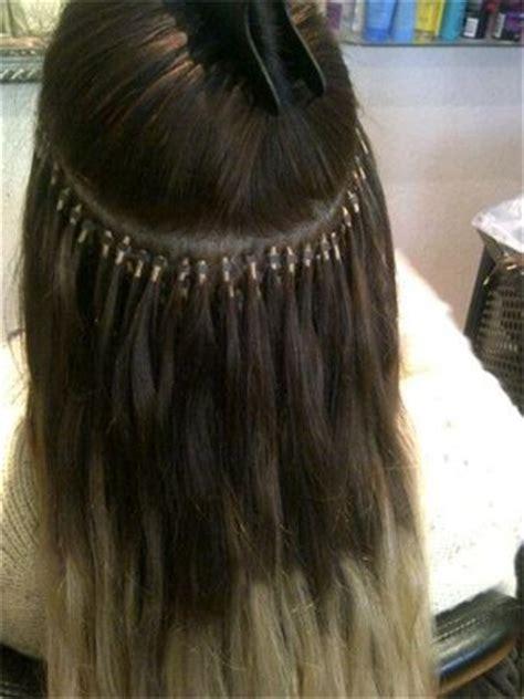 micro hair extension a touch of silk edinburgh micro ring