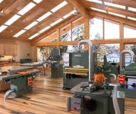 woodworking shop lighting wood shop lots of big green machines lighting in ceiling