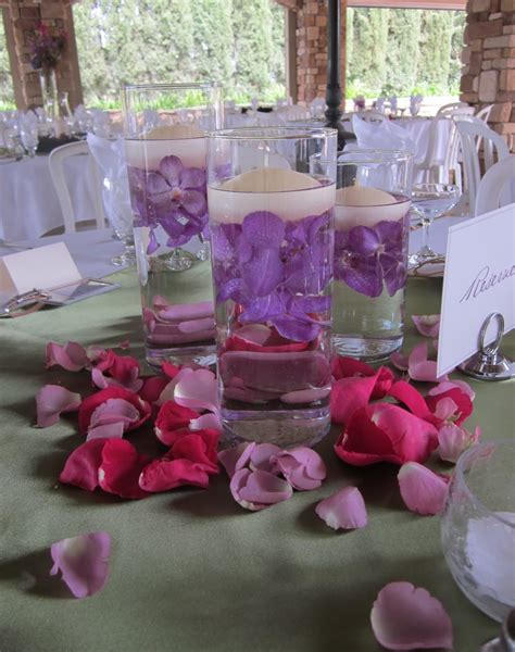 how to make centerpieces submerged centerpieces wedding centerpieces at