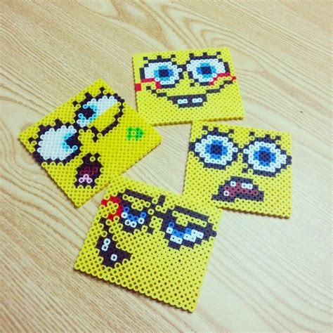 spongebob perler 4371 best images about perler on perler