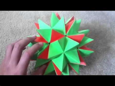 how to make an origami transforming transforming paper origami spike