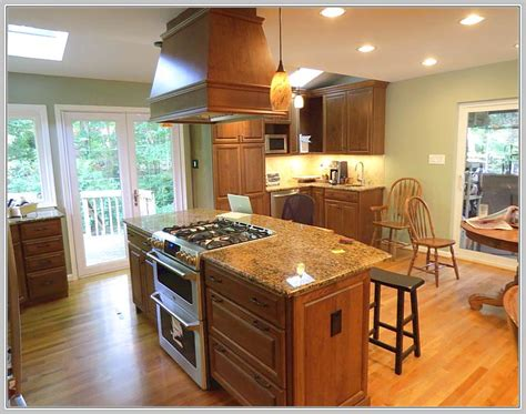 kitchen island with stove top kitchen island stove designs home design ideas