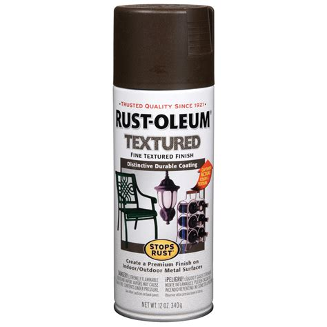 spray painter lowes shop rust oleum 12 oz brown spray paint at lowes