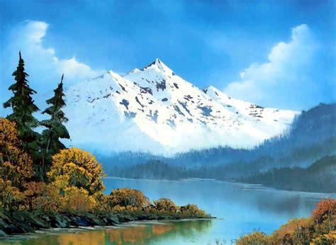 bob ross paintings on display im 225 genes arte pinturas cuadros paisajes