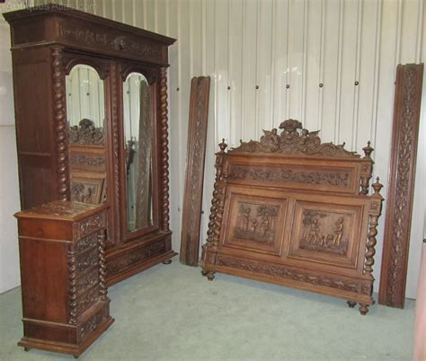 carved bedroom furniture carved oak bedroom set antiques atlas