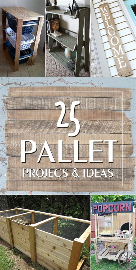 pallet crafts projects 25 ingenious pallet projects and ideas