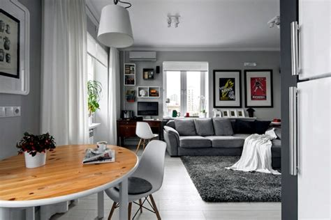 Small Apartment Dining Room Ideas small apartment in a scandinavian style of life and