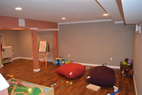 Impressive Basements Boston by Play Space For Kids In Basement Kaks Basement Finishing